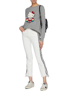 Chinti and Parker x Hello Kitty®啦啦队卡通图案针织衫