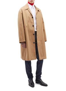 Calvin Klein 205W39NYC 插肩袖混棉大衣