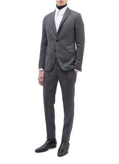 Calvin Klein 205W39NYC 品牌名称刺绣纯棉衬衫