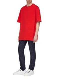 Calvin Klein 205W39NYC 镂空背面品牌名称T恤