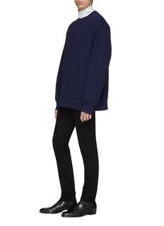 Calvin Klein 205W39NYC 切割镂空背面纯棉卫衣