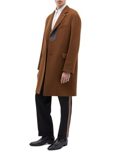 Calvin Klein 205W39NYC 针织侧条纹斜纹布露踝裤