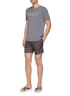 Fendi Sport Bag Bugs眼睛图案泳裤
