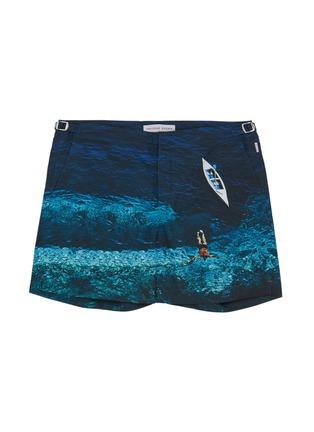 首图 - 点击放大 - Orlebar Brown - Bulldog Deep Sea海洋照片印花泳裤