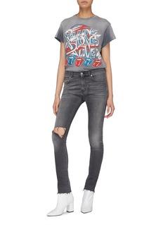 MadeWorn The Rolling Stones印花水洗T恤