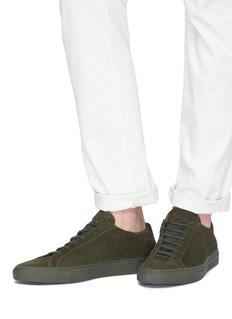COMMON PROJECTS Original Achilles绒面真皮运动鞋