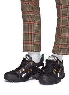 GUCCI Flashtrek拼接设计厚底运动鞋