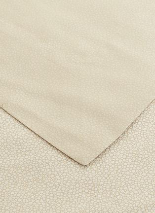 细节 –点击放大 - Frette - Forever YD特大双人床圆点纹理四件套-浅米色及白色