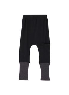 Wee Monster 儿童款罗纹针织裤脚口低档休闲裤