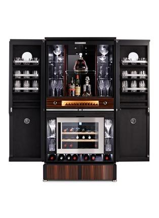 细节 –点击放大 - BUBEN&ZÖRWEG - Grand Connoisseur XL尊贵鉴赏家黑檀木酒柜