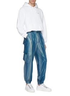 FENG CHEN WANG 光泽感工装裤