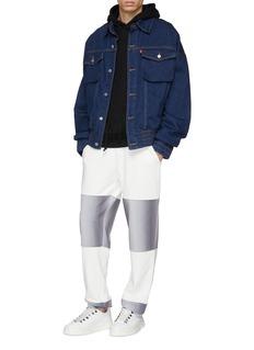 Feng Chen Wang x Levi's®拼接设计水洗牛仔夹克
