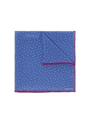 首图 - 点击放大 - LANVIN - 波点真丝袋巾