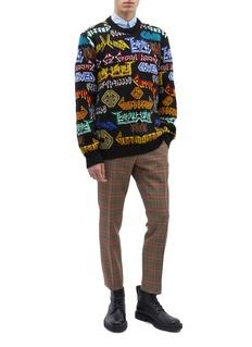 GUCCI 立体字样羊毛针织衫