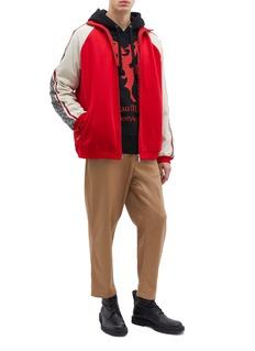 GUCCI GG标志侧条纹夹克