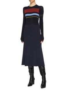 Victoria Beckham 罗纹针织半裙
