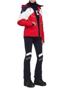 PERFECT MOMENT Chamonix II拼色连帽功能羽绒滑雪夹克