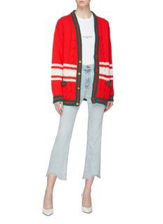 Gucci Chateau Marmont条纹羊毛针织衫