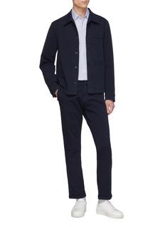 BARENA Rampin Trato棉质斜纹布长裤