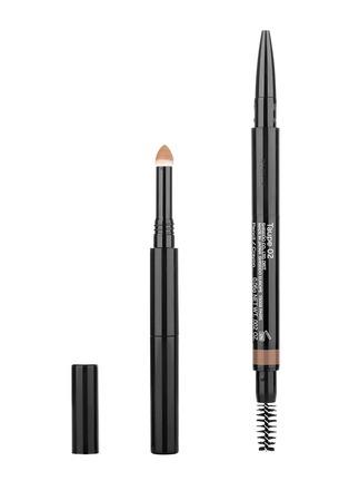 首图 -点击放大 - Shiseido - 墨彩柔润多用眉笔(01号-亚麻)