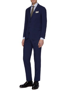 Tomorrowland 锥形羊毛混丝功能西服长裤