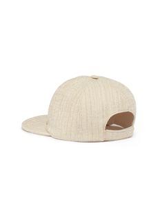 Maison Michel Hailey粗花呢棒球帽