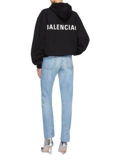 Balenciaga 品牌名称纯棉连帽卫衣