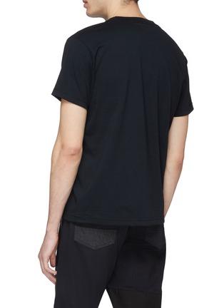 背面 - 点击放大 - FDMTL - 波点品牌名称拼贴T恤
