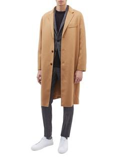 EQUIL Stockholm oversize羊毛混羊绒大衣