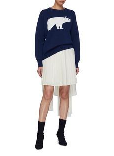 PH5 北极熊图案纯棉针织衫