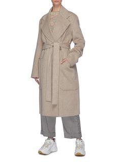 Acne Studios 双面羊毛混羊绒oversize大衣