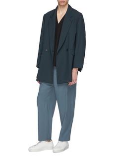 ETHOSENS 可拆式衣袖羊毛西服外套
