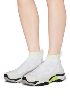 ASH Addict Stretch拼接设计oversize针织袜式运动鞋