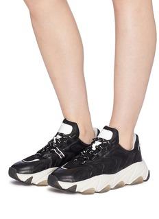 ASH Extreme真皮拼接网眼布oversize运动鞋