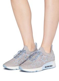 ASH Lunatic Star五角星图案闪亮针织运动鞋