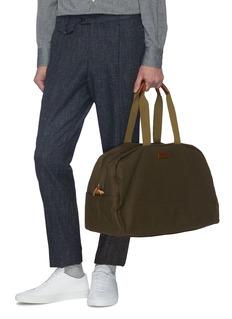 TRUNK x PORTER抗水石蜡涂层纯棉帆布波士顿包