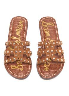 Sam Edelman Gigi Bridget儿童款几何铆钉镂空搭带拖鞋