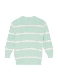 PH5 儿童款中性款毛球点缀条纹针织衫