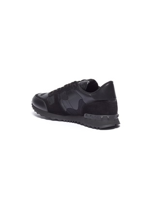 - Valentino - Rockrunner拼接设计网眼布运动鞋