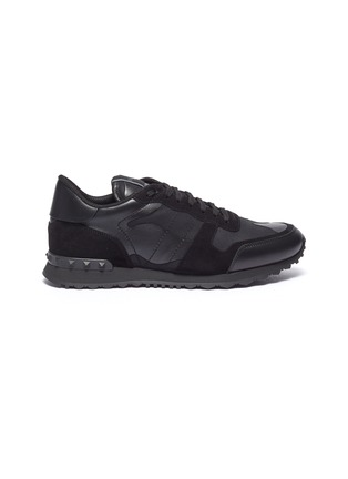 首图 - 点击放大 - Valentino - Rockrunner拼接设计网眼布运动鞋