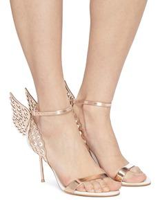 SOPHIA WEBSTER Evangeline立体天使翅膀拼色高跟凉鞋