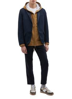nanamica Club拼接设计西服夹克