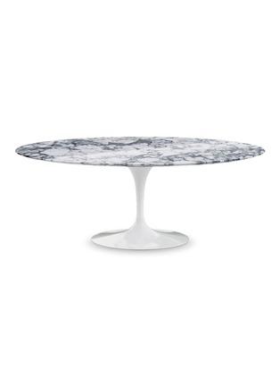 首图 –点击放大 - Knoll - Saarinen椭圆形大理石餐桌-灰色