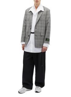 JUUN.J 双层衣襟oversize衬衫