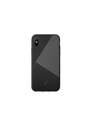 首图 –点击放大 - NATIVE UNION - CLIC MARQUETRY真皮拼接手机壳(黑色)