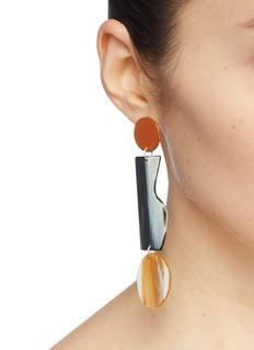 Bianca Mavrick Jewellery 不对称几何吊坠耳环