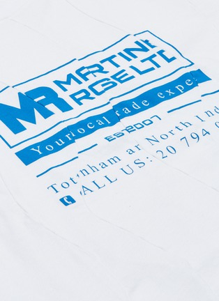 - Martine Rose - 拼接效果logo印花T恤
