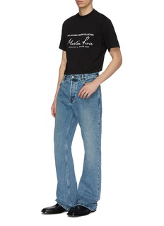 Martine Rose 品牌标志印花纯棉T恤