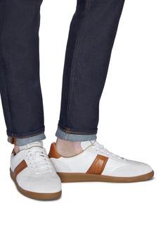 MAGNANNI 锯齿边方块拼接设计运动鞋