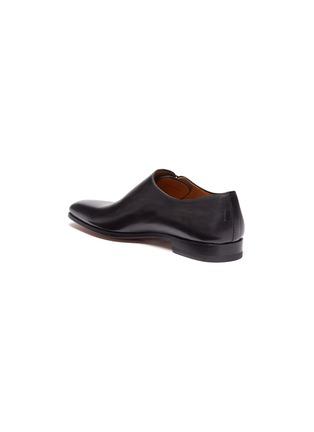 细节 - 点击放大 - Magnanni - 斜侧系带真皮牛津鞋